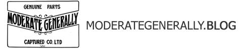 moderate generally blog|モデレイトジェネラリー(福岡)のオフィシャルブログ